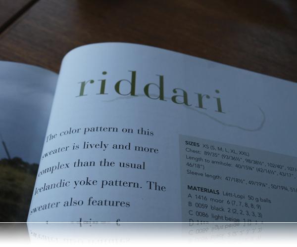 Riddari...