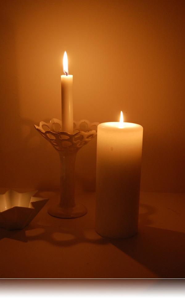 3 lys for 3.søndag i advent...