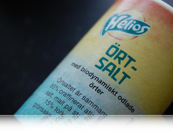 Salt og urter...