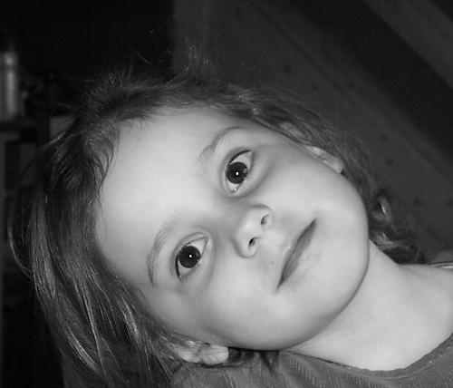 Amanda 4 år…