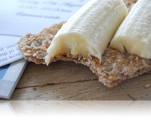 Knække med banan…