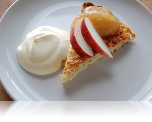 Småländsk ostekaka med äpple…