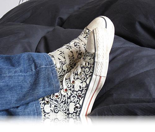 Sneakers og sofahygge…