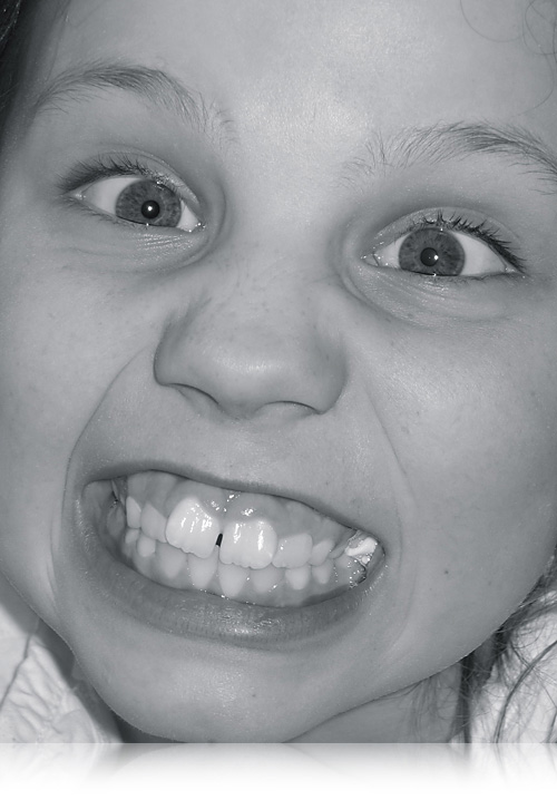 Laura 8 år…