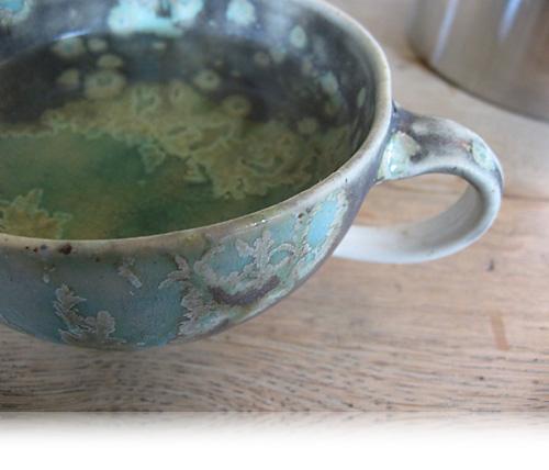 Grøn te i grøn kop…