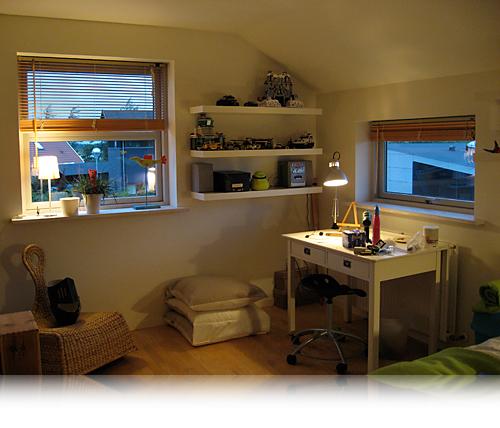 Nyt værelse…