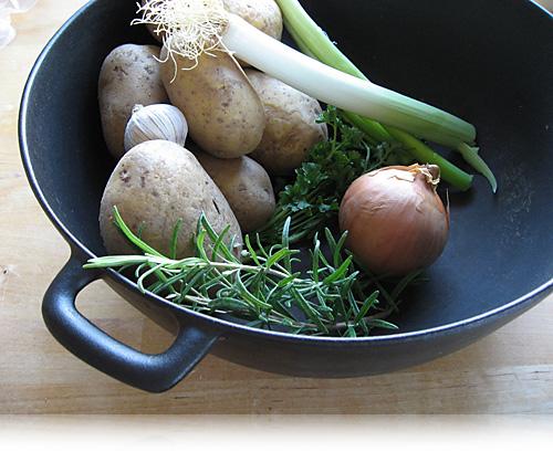 Kartoffelsuppe…