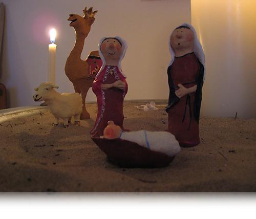 Josef og Maria…