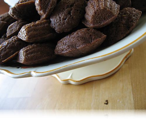 Chokolademadeleines…