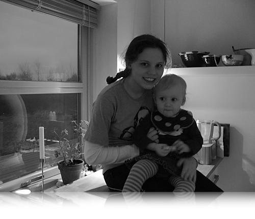 Laura og Frederikke…